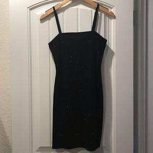 Forever 21 Sparkly Black mini dress
